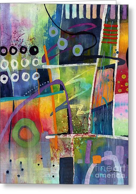 Fresh Jazz Greeting Card by Hailey E Herrera