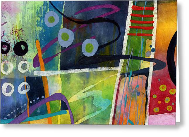 Fresh Jazz In A Square Greeting Card