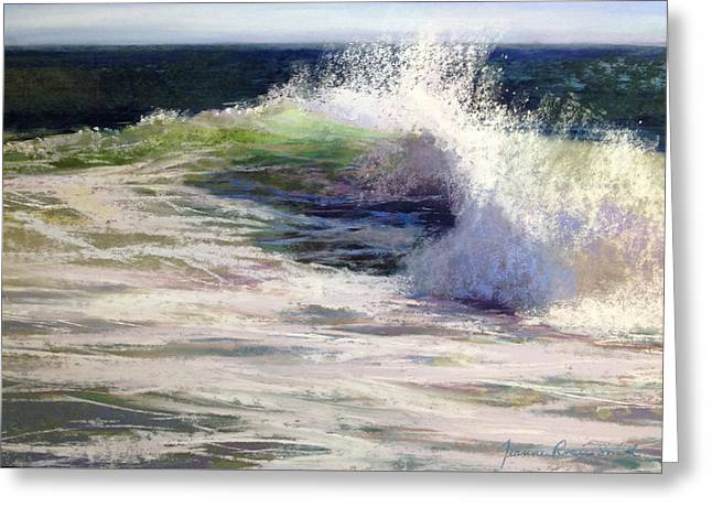 Fresh Greeting Card by Jeanne Rosier Smith