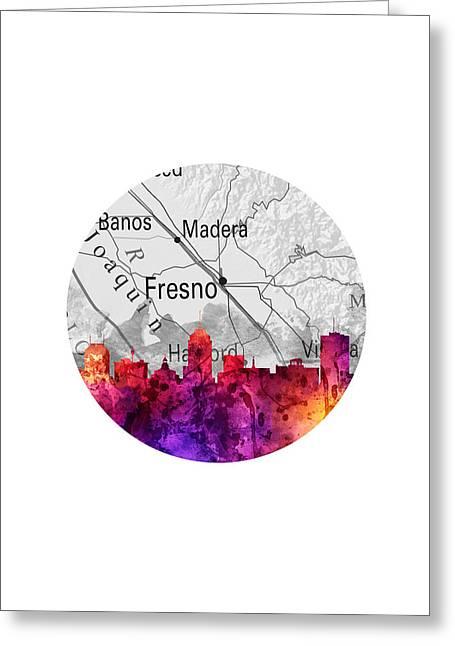 Fresno California 14rd Greeting Card