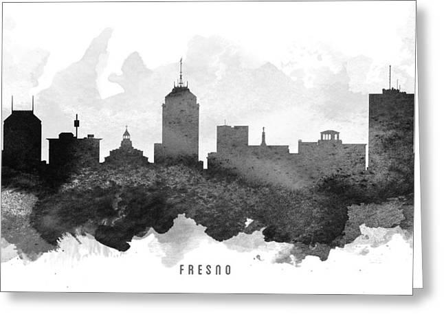 Fresno Cityscape 11 Greeting Card