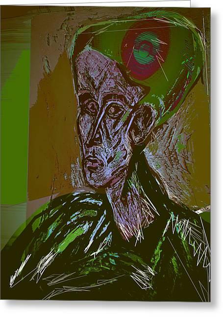 Freud Jung And Deth Instinct. Greeting Card
