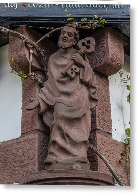 Friar In Rudesheim Greeting Card
