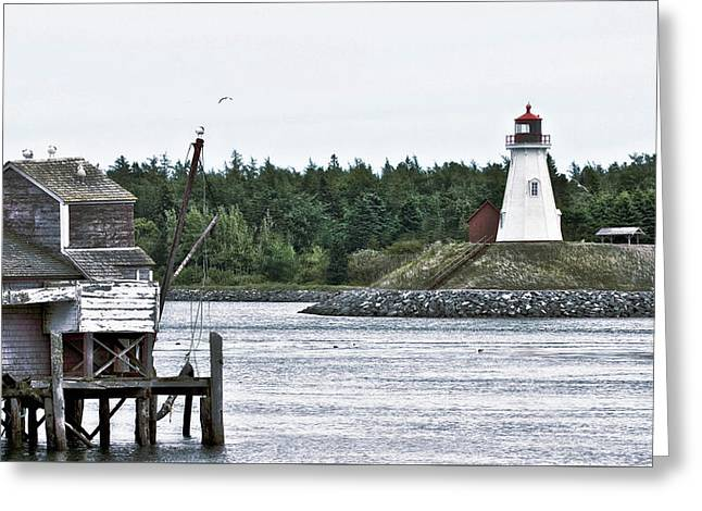 Friar's Head Lighthouse Greeting Card
