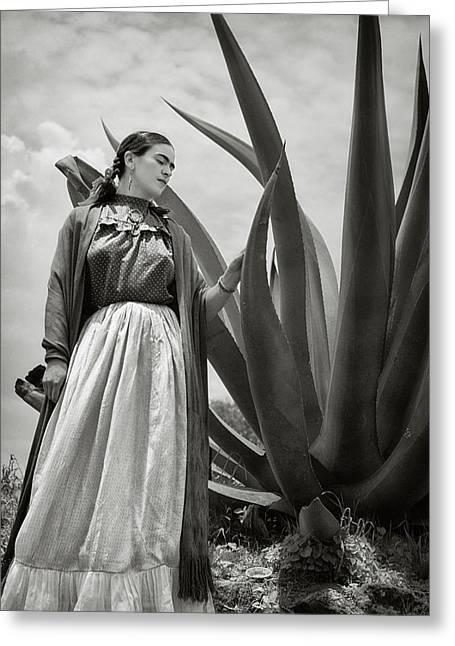 Frida Kahlo 1937 Greeting Card