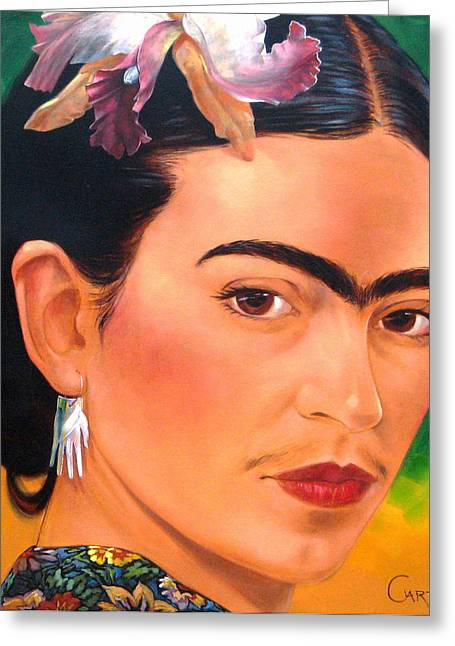 Frida Kahlo 2003 Greeting Card