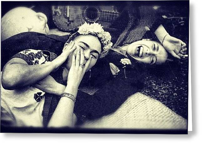 Frida Kahlo/chavela Vargas Greeting Card