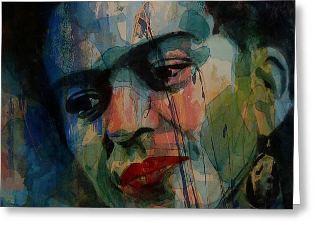 Frida Kahlo Colourful Icon  Greeting Card by Paul Lovering