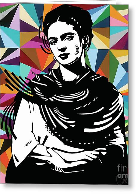 Frida Stay True Greeting Card