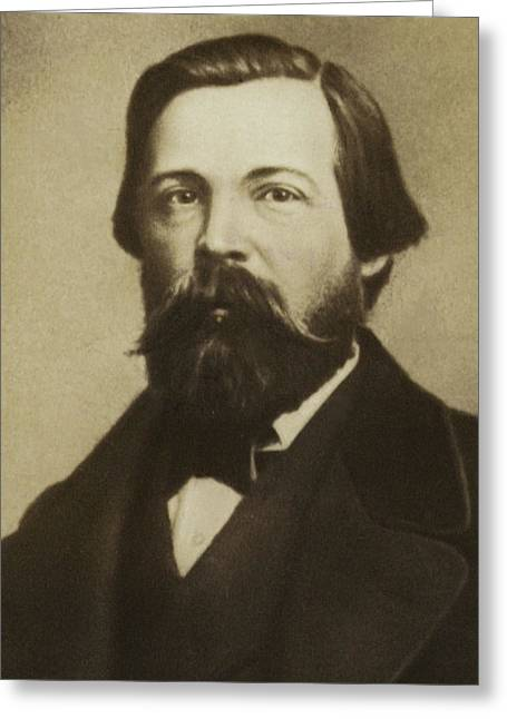 Friedrich Engels Greeting Card