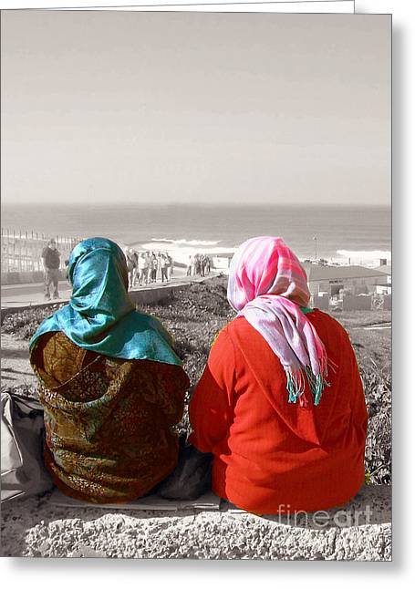 Friends, Morocco Greeting Card