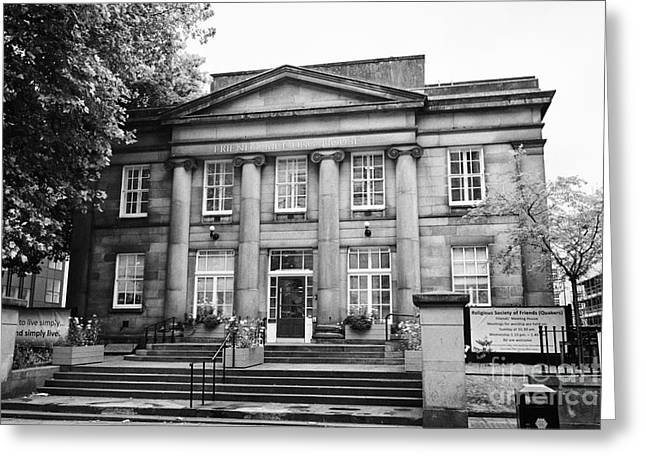 friends meeting house Manchester uk Greeting Card