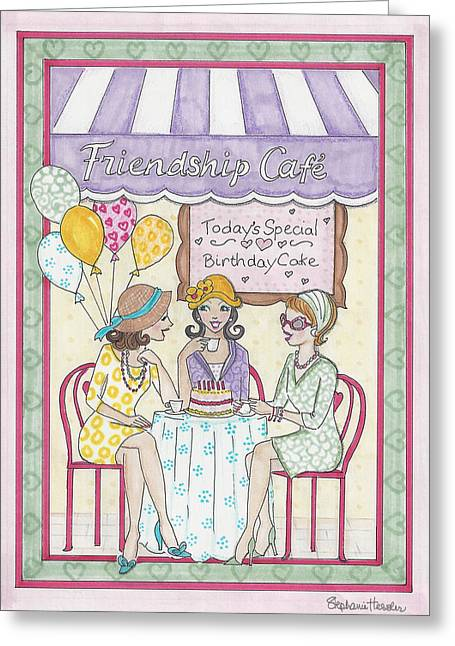 Friendship Cafe Greeting Card