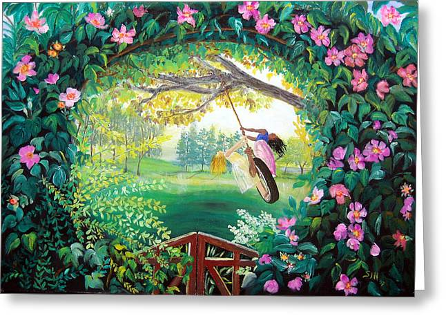 Friendship Garden Greeting Card
