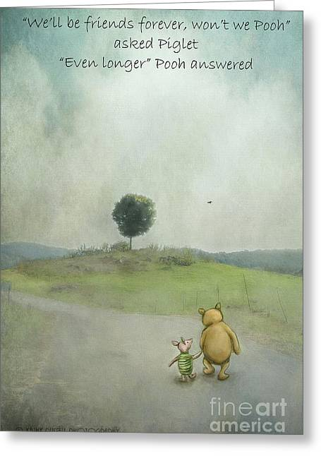 Friendship Greeting Card by Kathy Russell