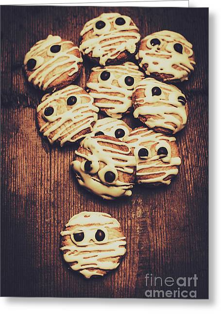 Fright Night Party Baking Greeting Card
