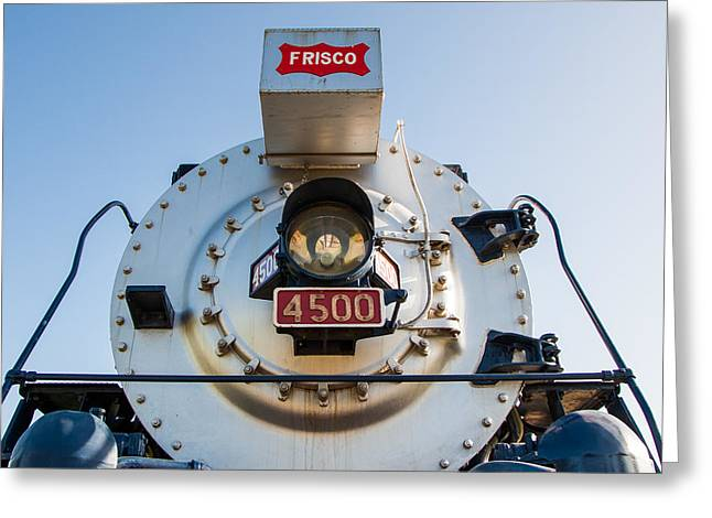 Frisco Meteor On Route 66 In Tulsa Oklahoma Greeting Card