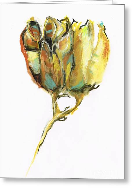 Fritillaria Greeting Card by Frances Marino