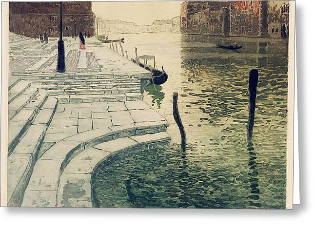 Frits Thaulow Greeting Card by MotionAge Designs