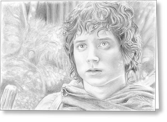 Frodo Greeting Card by Bitten Kari