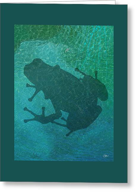 Frog  Greeting Card by Quim Abella