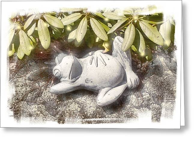 Frog Day Afternoon Greeting Card