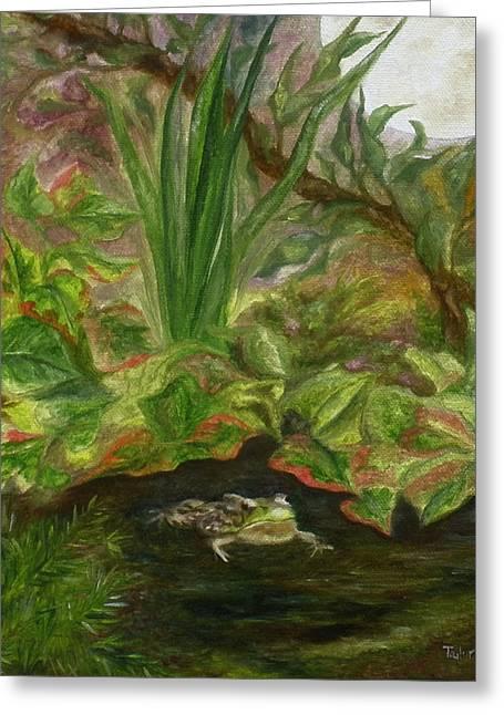Frog Medicine Greeting Card