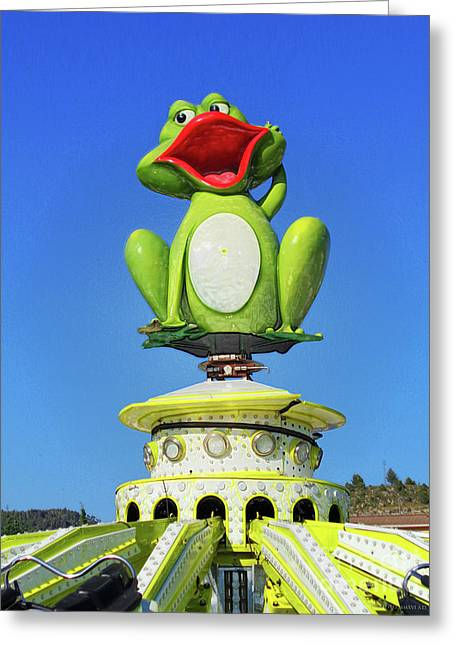 Froggy Greeting Card