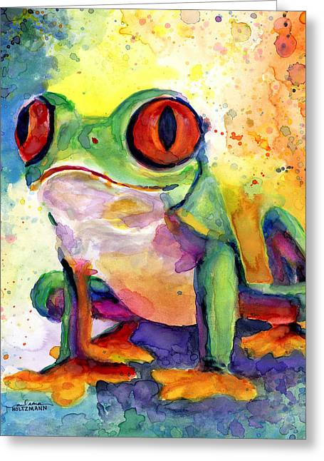 Froggy Mcfrogerson Greeting Card