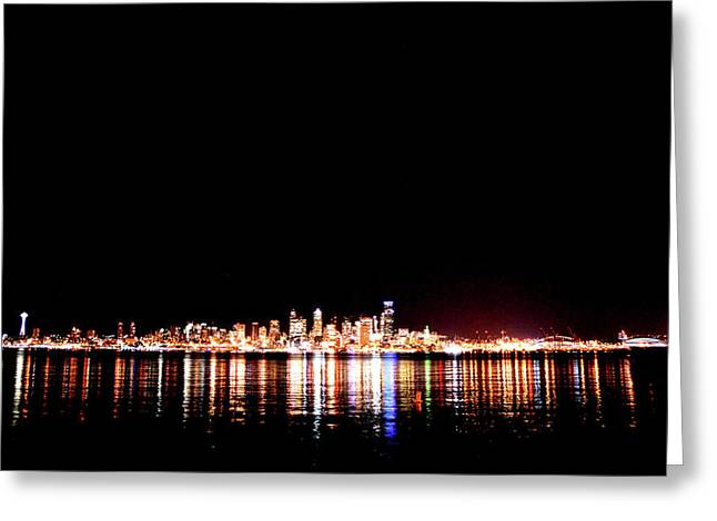 From Alki -wide Greeting Card