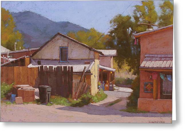 From Arroyo Seco, Nm Greeting Card by Sarah Blumenschein