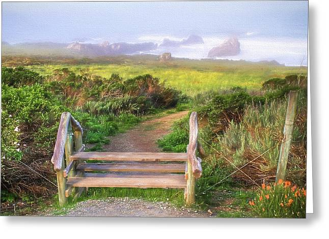 From Here To Eternity Greeting Card by Donna Kennedy