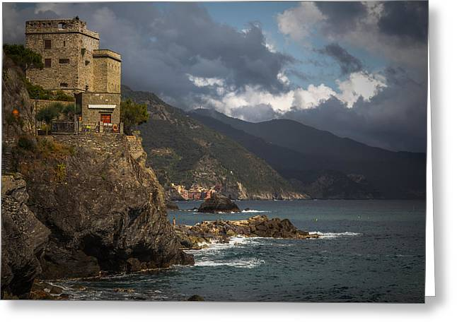 From Monterosso To Vernazza Greeting Card by Chris Fletcher