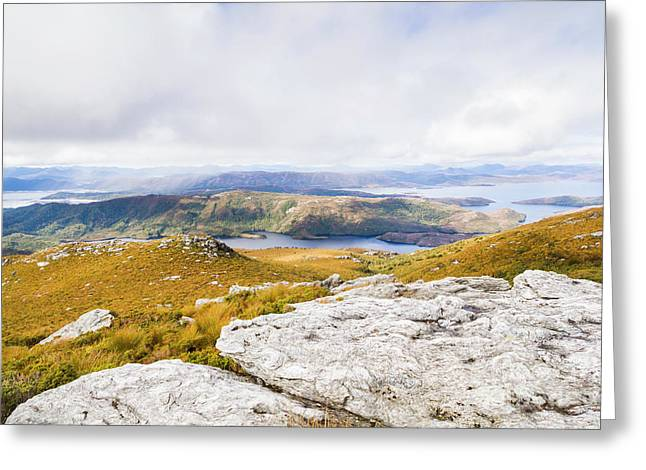 From Mountains To Lakes Greeting Card