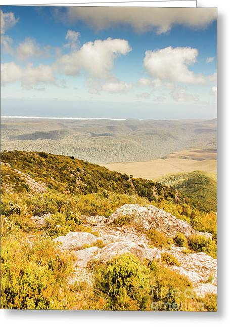 From Mountains To Seas Greeting Card