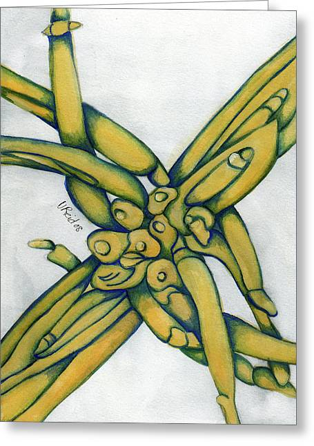 From My Garden 2 Greeting Card by Versel Reid