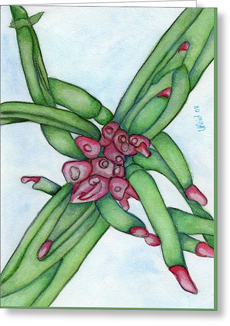From My Garden 3 Greeting Card by Versel Reid