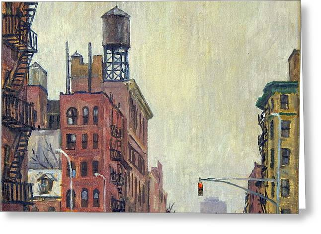 From Orchard Street Nyc Greeting Card by Thor Wickstrom