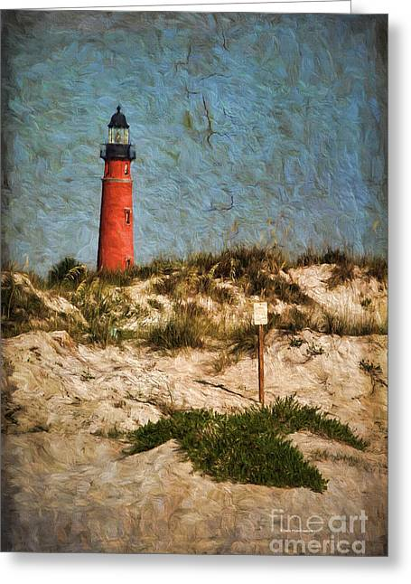 From The Beach Greeting Card