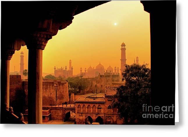 Mughal Empire  Greeting Card