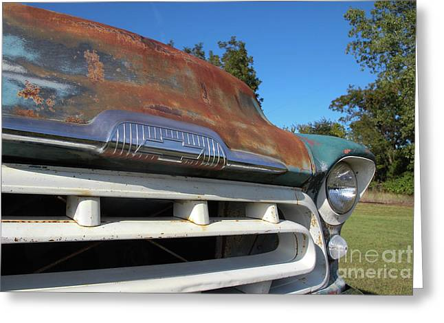 Front Grill Greeting Card by Laura Deerwester