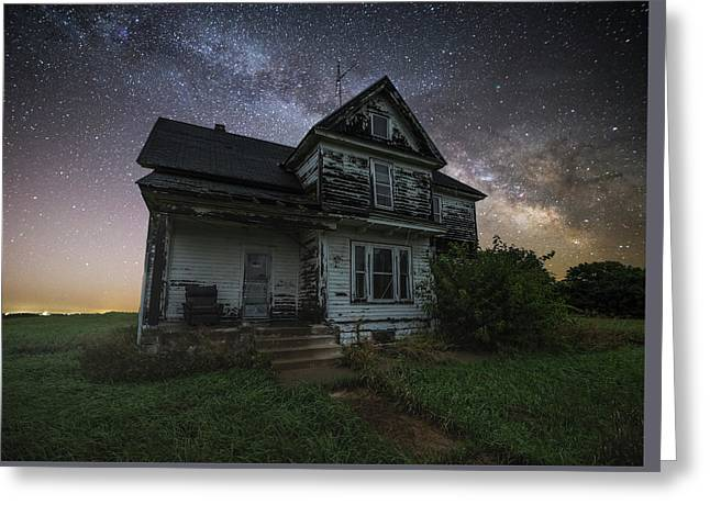 Front Porch  Greeting Card by Aaron J Groen