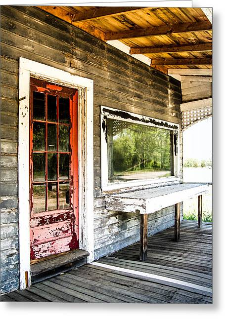 Front Porch Farm Greeting Card by Sabrina Ramina