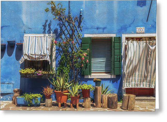 Frontage Greeting Card by Chris Fletcher