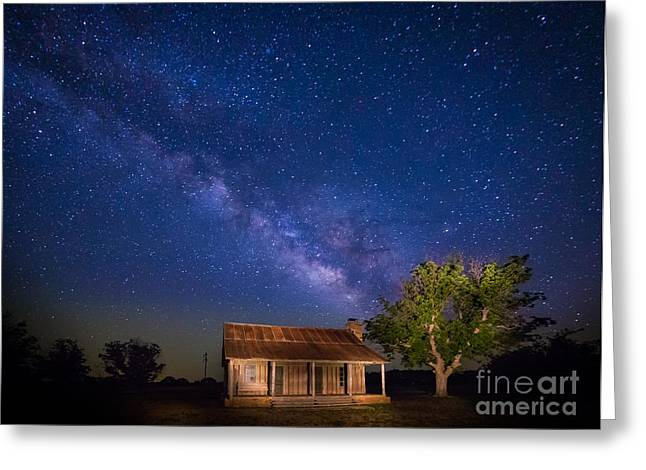 Frontier House Greeting Card by Inge Johnsson