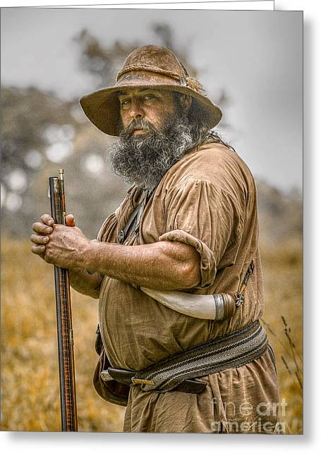 Frontiersman Portrait Greeting Card