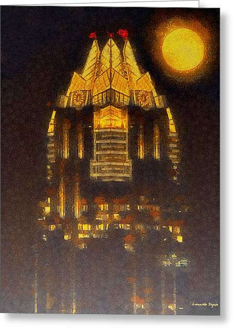 Frost Bank Austin - Pa Greeting Card