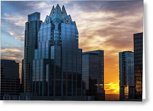 Frost Bank Tower Greeting Card