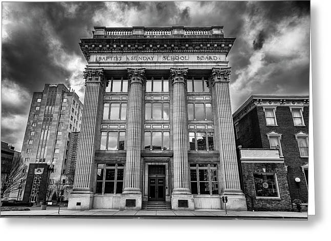 Frost Building - Lifeway Christian Resources Greeting Card by Stephen Stookey