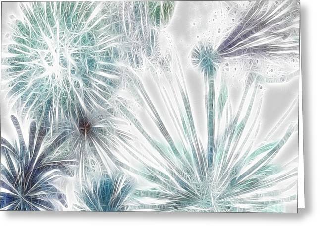 Frosted Abstract Greeting Card